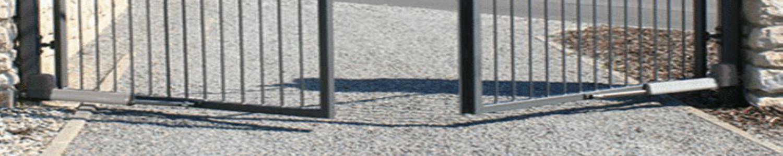 ISVETA Vartstomų kiemo vartų automatika