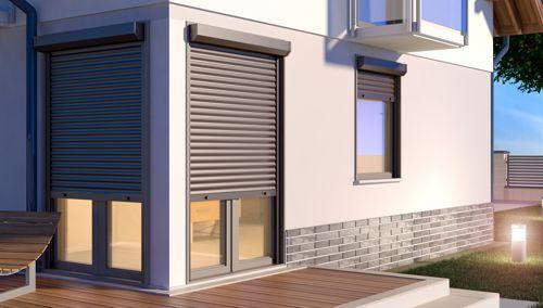 Apsauginės žaliuzės langams ir durims